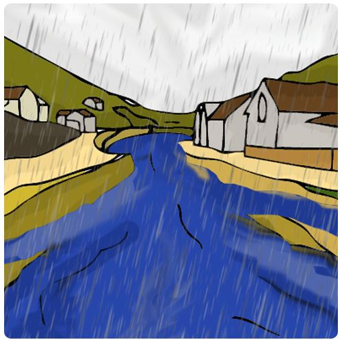 boscastle flooding app